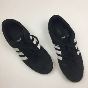 ADIDAS Men's Classic Black and White Sneakers